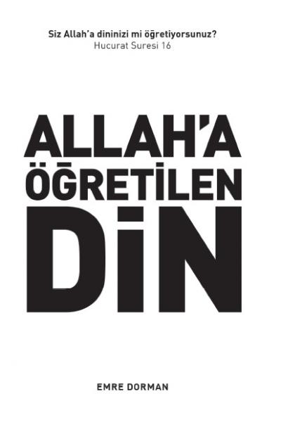 Allah'a Öğretilen Din Allah'a Öğretilen Din