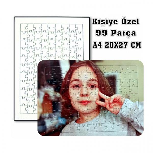 Kişiye Özel Fotoğraf Baskılı Puzzle Yap Boz Pazıl 99 Parça