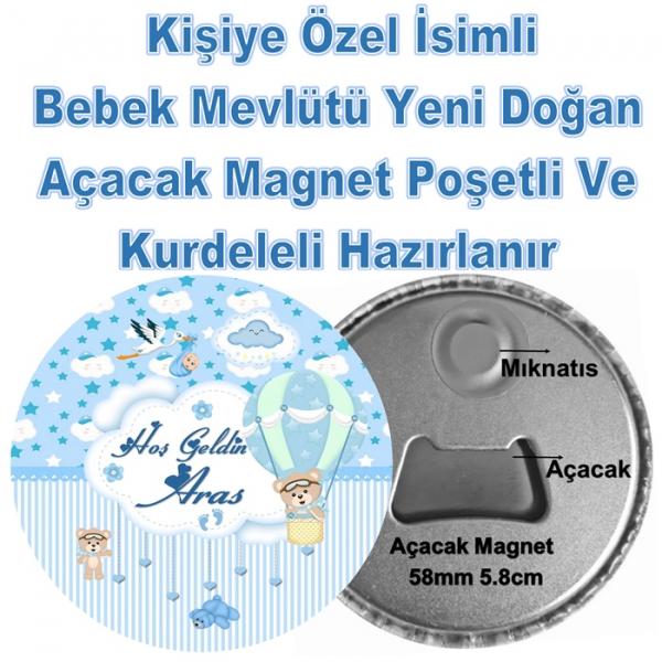 Yeni Doğan Açacak Magnet  Yeni Doğan Açacak Magnet