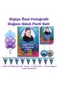 Deniz Kızı Temalı Doğum Günü Parti Seti