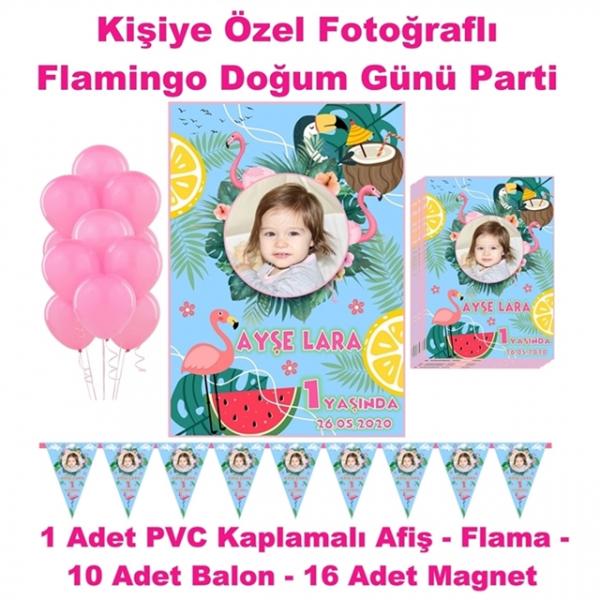 Flamingo Doğum Günü Parti Seti