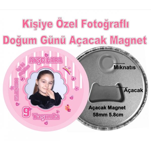 Prenses Temalı Doğum Günü Açacak Magnet Prenses Temalı Doğum Günü Açacak Magnet