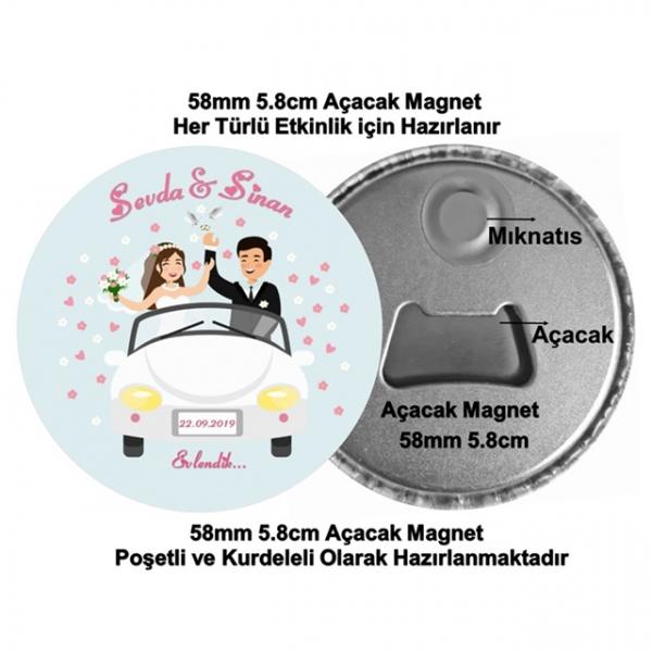 Nikah Söz Nişan Açacak Magnet  Nikah Söz Nişan Açacak Magnet