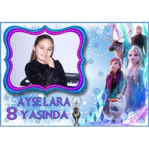 Elsa Doğum Günü Magnet Kişiye Özel Fotoğraflı Elsa Doğum Günü Magnet Kişiye Özel Fotoğraflı