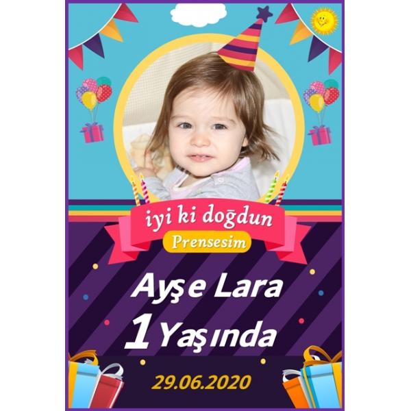 Doğum Günü Magnet Kişiye Özel Fotoğraflı  Doğum Günü Magnet Kişiye Özel Fotoğraflı