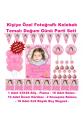 Kelebek Temalı Doğum Günü Parti Seti Kişiye Özel Hediye Seti (33x48 Afiş-Flama-6x9 18 Magnet)