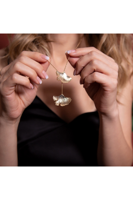 Stelart Jewelry Reborn Kolye | Pirinç Üzeri 18 Ayar Altın Kaplama