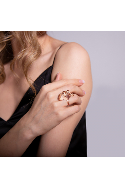 Stelart Jewelry Reborn Yüzük | Küçük | Rosegold Kaplama