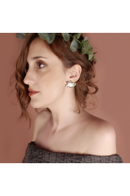 Stelart Jewelry Reborn Küpe | Rosegold Kaplama