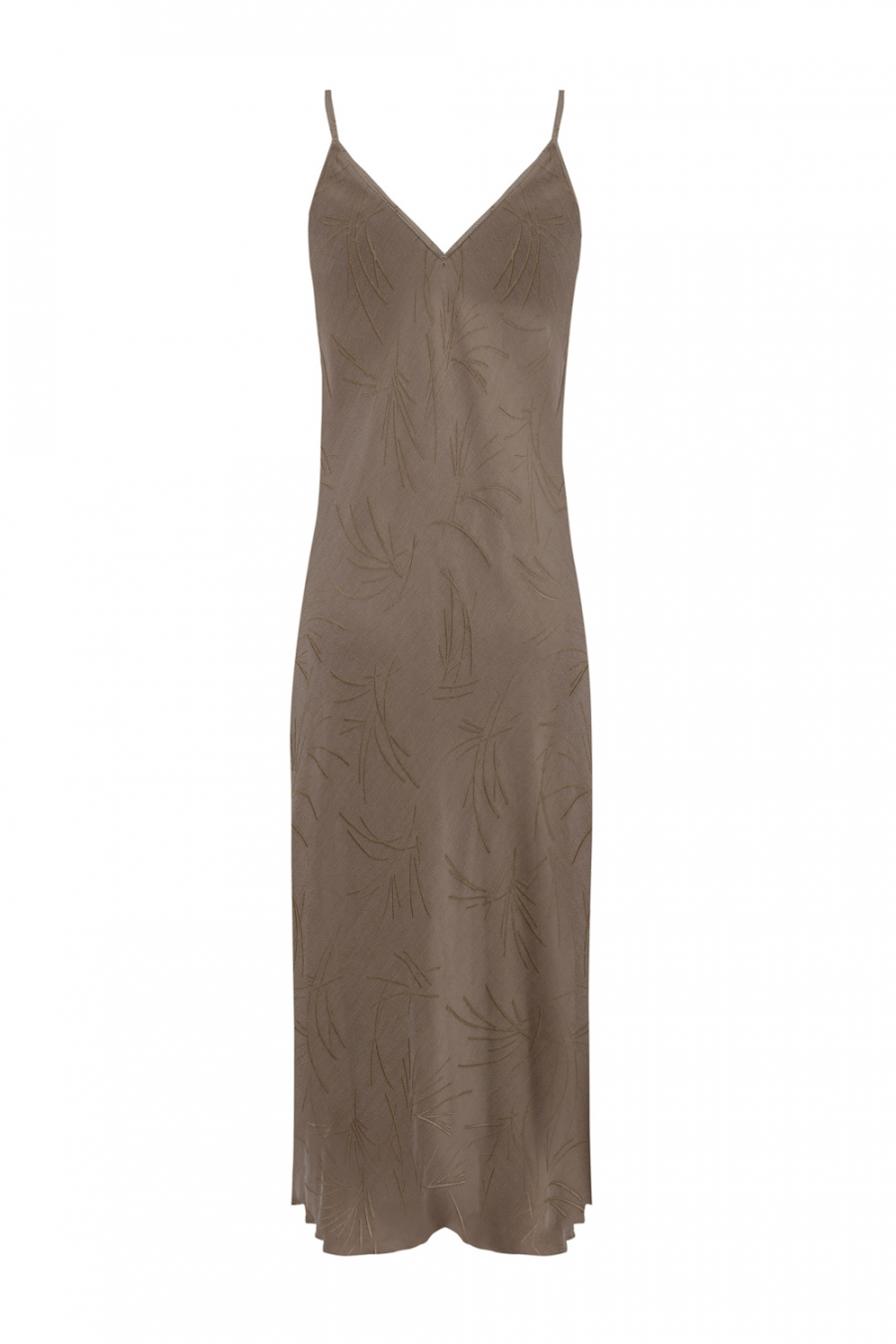PIA Palm Slip Dress