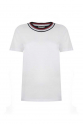 Stripy Neck T-Shirt