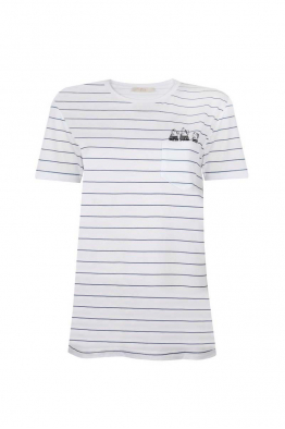Pia Brand Stripy Fish T-Shirt