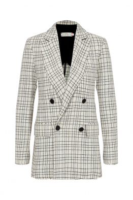 Pia Brand Checked Blazer