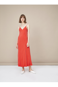 PIA Cupro Slip Dress