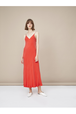 Pia Brand PIA Cupro Slip Dress