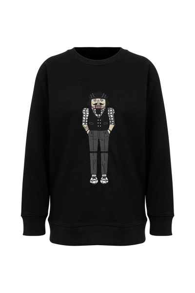 Pia Brand Mr Leo Black Sweatshirt