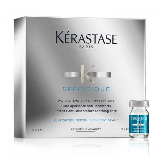 Specıfıque Hassas Saç Derisi İçin Durulanmayan Saç Bakım Serumu 12 X 6 ml  Specıfıque Hassas Saç Derisi İçin Durulanmayan Saç Bakım Serumu 12 X 6 ml