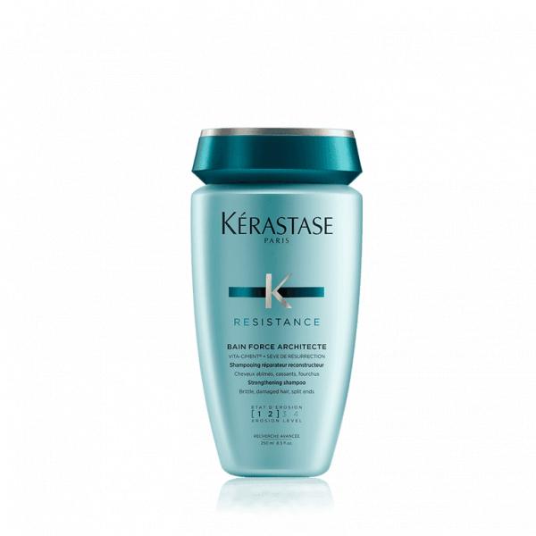 Yıpranmış Saçlar için Şampuan (Yıpranma Seviyesi 1-2) - Bain Force Architecte 250 ml