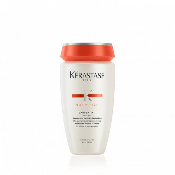 Nutritive satin 1 Kurumaya Meyilli Saçlar İçin Nemlendirici Şampuan   250 Ml