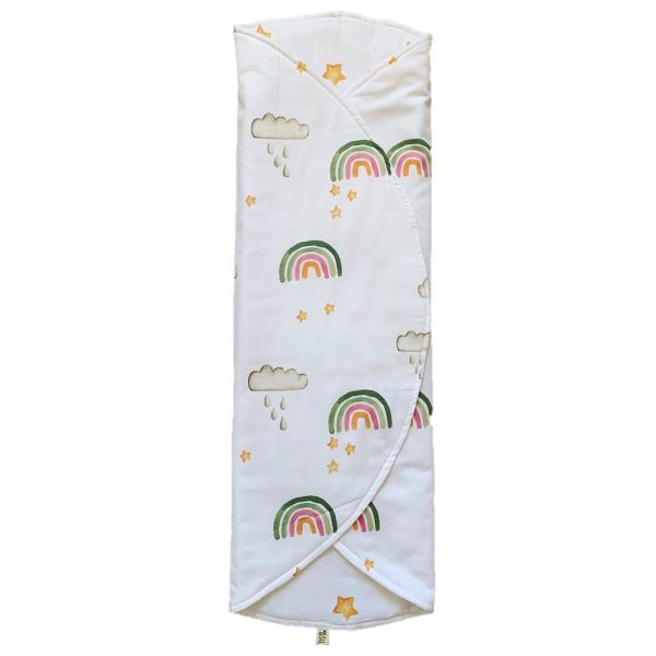 Asu Baby&Kids Unicorn Organik Pamuk Katla& Taşı Minder 80 cm