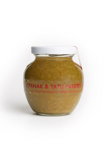 Ispanak & Tatlı Patates Püresi (180 gr)
