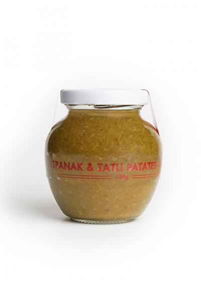 Ispanak & Tatlı Patates Püresi (180 gr) Ispanak & Tatlı Patates Püresi (180 gr)