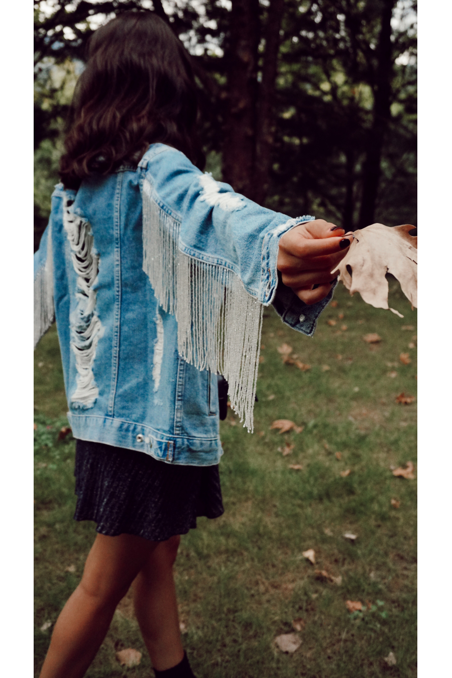 BRIGHT DENIM JACKET