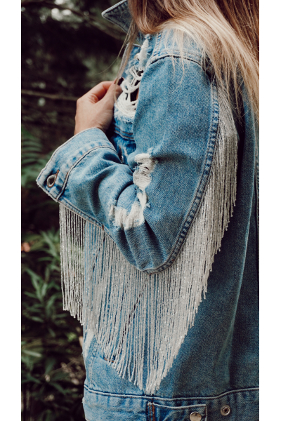 BRIGHT DENIM JACKET BRIGHT DENIM JACKET