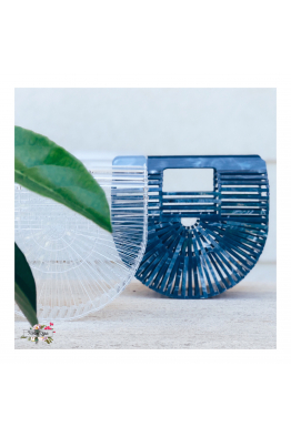 Merve Uğur BEAUTY BLUE CLUTCH