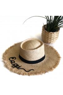 PANAMA CUSTOMIZED HAT