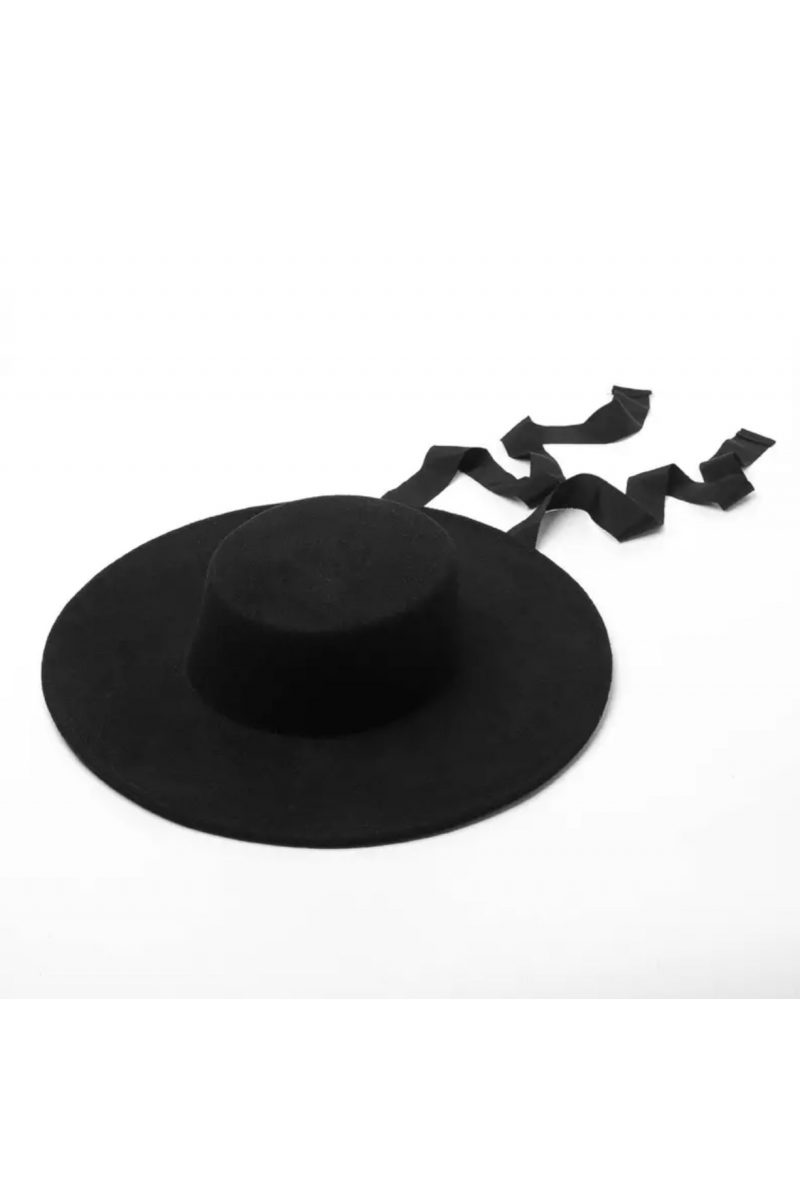 BLACK SMALL CANDY FEDORA