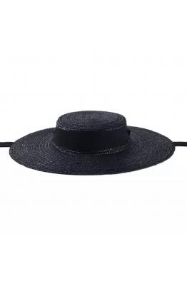 Merve Uğur BLACK CANDY HAT ( 6,5 cm )