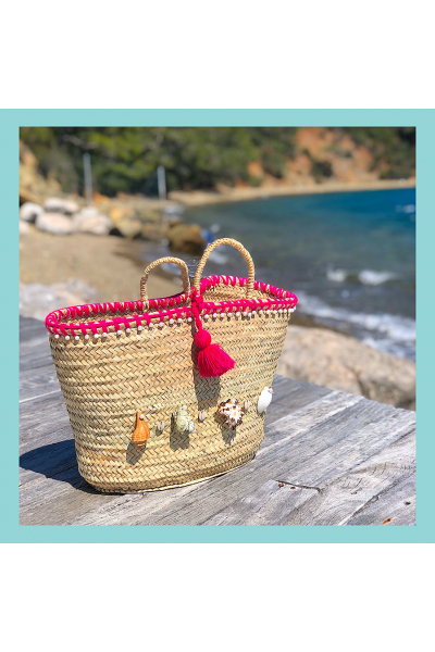 Aqua Basket Bag Aqua Basket Bag