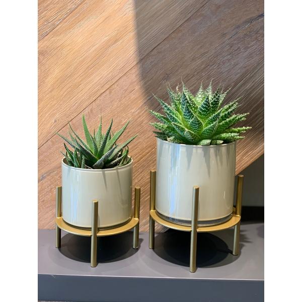 Mei Design Bonnie Cam Vazo  - Bej