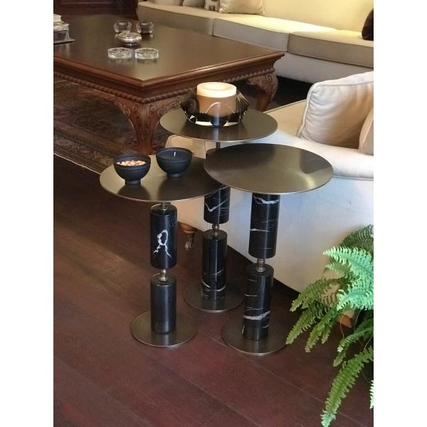 Mei Design Mona Yan Sehpa - Üçlü set