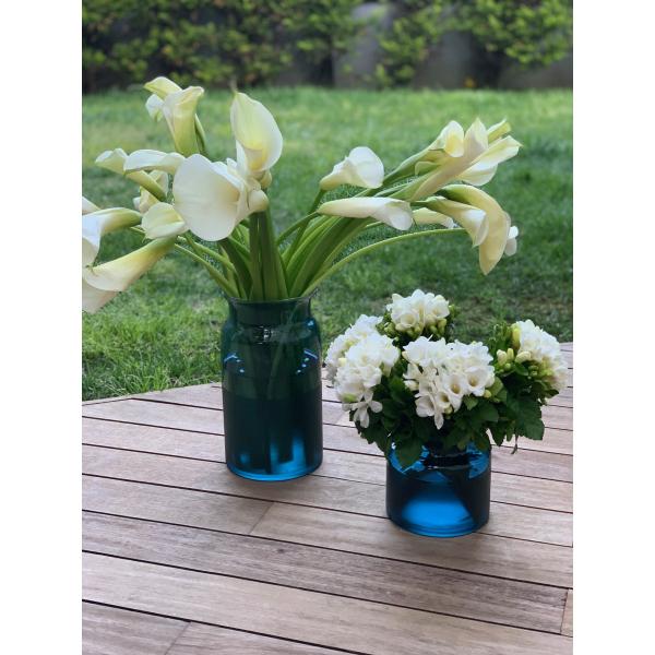 Mei Design Lipsi Vazo - Büyük Mavi