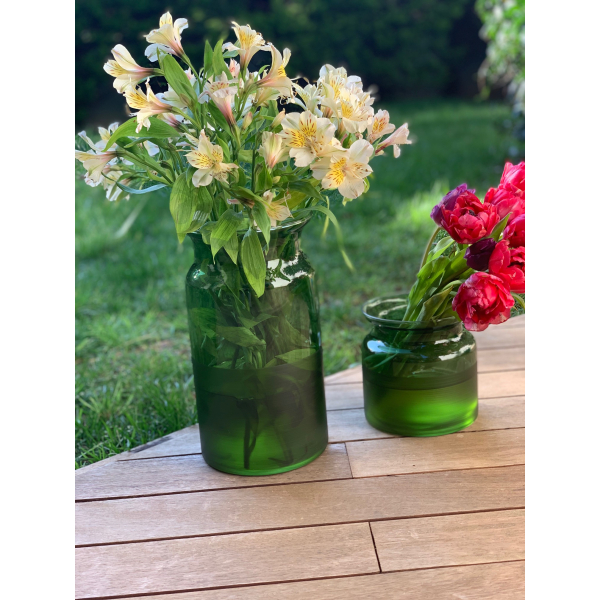 Mei Design Lipsi Vazo - Büyük Yeşil