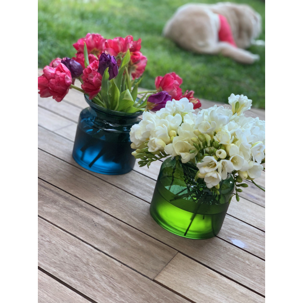 Mei Design Lipsi Vazo - Küçük Yeşil