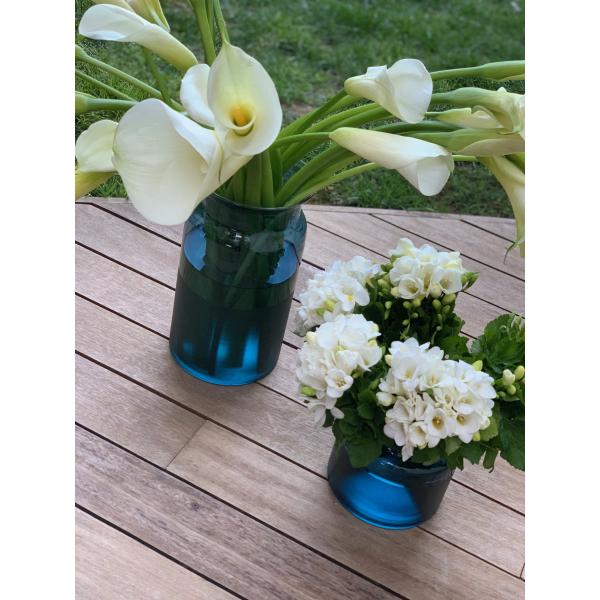 Mei Design Lipsi Vazo - Küçük Mavi