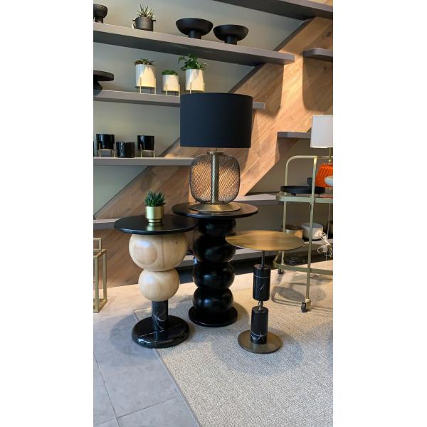 Mei Design Nobu Yan Sehpa - Siyah