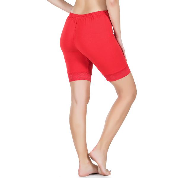 Dantelli Kırmızı Kadın Şort - RNLDRY415RED Dantelli Kırmızı Kadın Şort - RNLDRY415RED