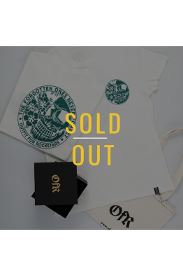 OFR -SOLD OUT- Forgotten Ones Never Forget White-Turqoise