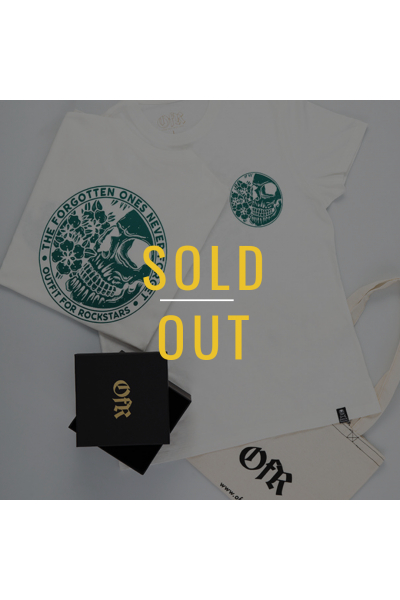 -SOLD OUT- Forgotten Ones Never Forget White-Turqoise -SOLD OUT- Forgotten Ones Never Forget White-Turqoise