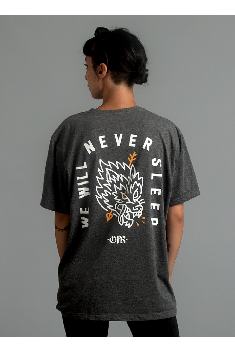 We Will Never Sleep Tshirt