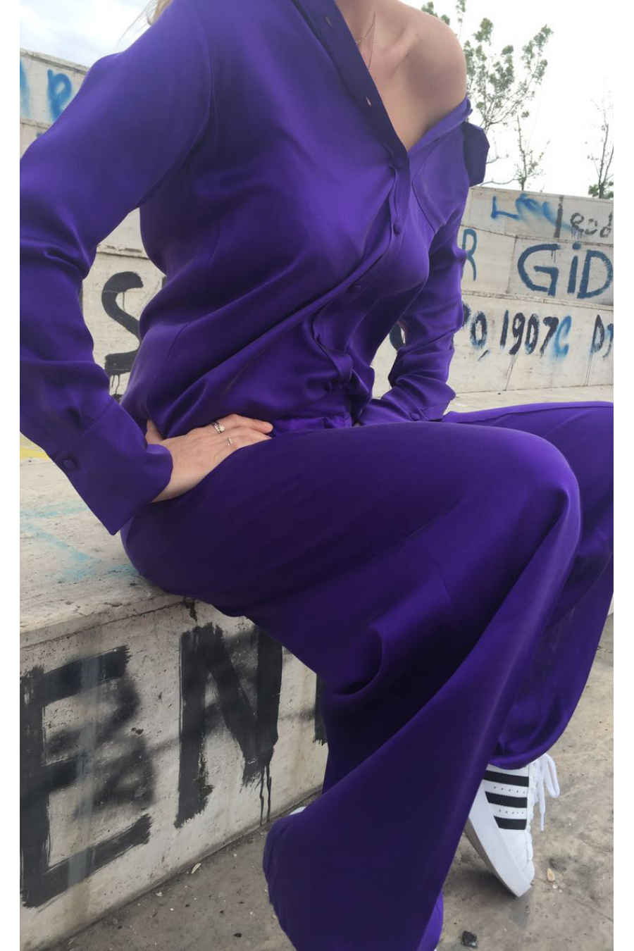 PANTS PURPLE