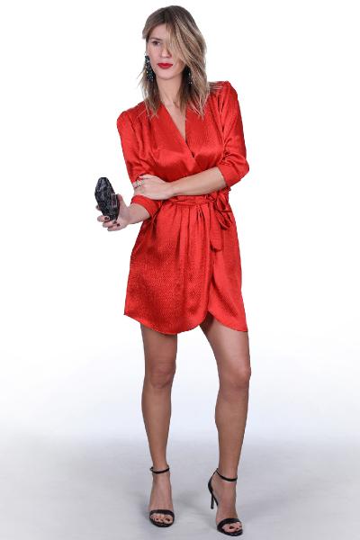 MILANO DRESS RED  MILANO DRESS RED