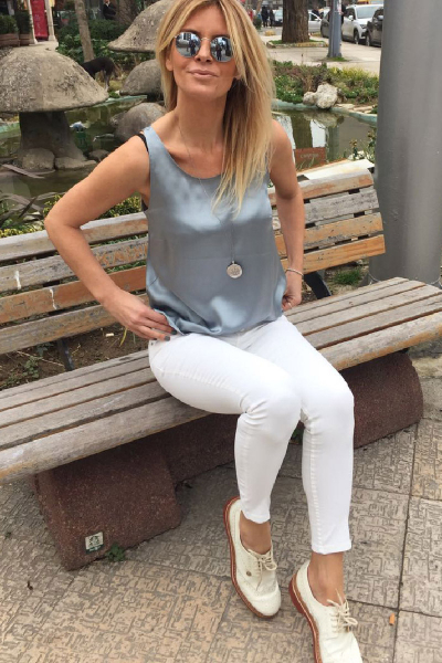 ATLETIC BLUE/GRAY BLOUSE ATLETIC BLUE/GRAY BLOUSE