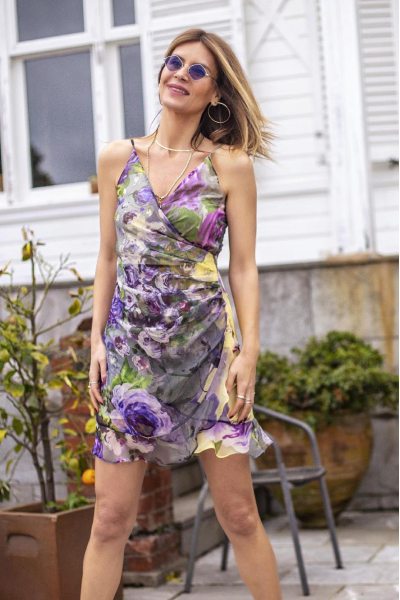 PARIS FLOWER DRESS PARIS FLOWER DRESS