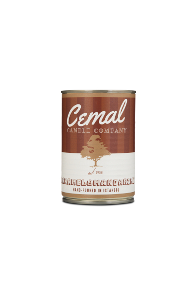 Cemal Candle Co. Caramel&Mandarine