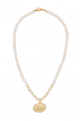 Glowing Diaries OYSTER PEARL NECKLACE